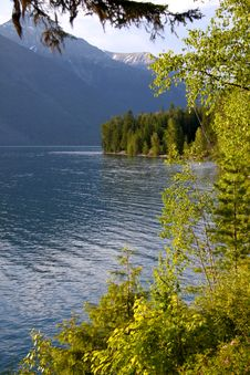 Free Lake McDonald Royalty Free Stock Photo - 15150285