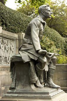 Free WW1 Memorial In Edinburgh, Scotland Stock Photos - 15150723