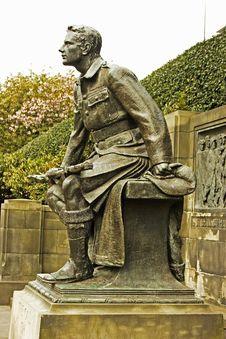 Free WW1 Memorial In Edinburgh, Scotland Stock Photo - 15150740