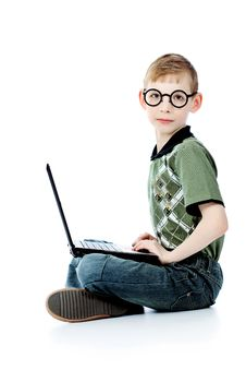 Free Learning Boy Royalty Free Stock Photos - 15150848