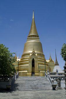 Free Golden Pagoda At Grand Palace Stock Photo - 15151620