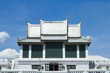 Free White Buddhism Church Stock Images - 15151704
