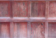 Weathered Garage Door Background