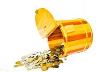 Free Barrels Piggy Bank Stock Photos - 15152373