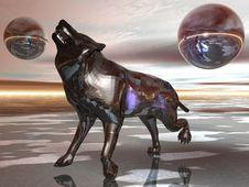 Free Metal Wolf Stock Photo - 15152480