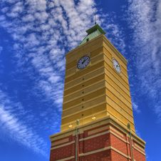 Free HDR Clock Tower Royalty Free Stock Photo - 15152595