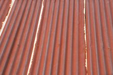 Free Rusty Roof Pattern Royalty Free Stock Photos - 15152908
