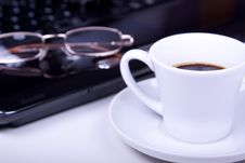 Free Morning Office Coffee Stock Photos - 15154363