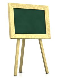 Free Blank Blackboard Royalty Free Stock Photography - 15155427