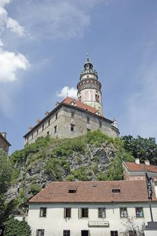 Free Castle Cesky Krumlov Stock Photography - 15156912