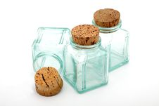 Bottles And Corks Royalty Free Stock Images