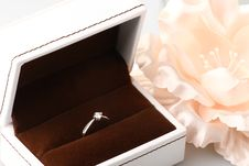 Free Diamond Ring Royalty Free Stock Photos - 15157088