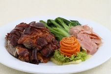 Roast Duck. Stock Images