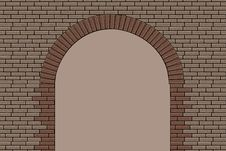 Free Brick Arch Royalty Free Stock Photos - 15157298