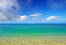 Free Turquoise Sea Stock Image - 15157521