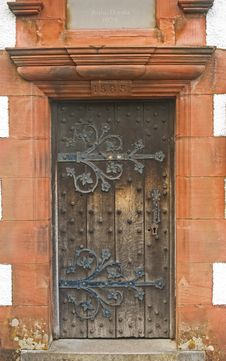 Free 16 Th Century Wooden Door. Stock Photo - 15157700