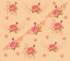 Free Red Rose Flower Background Illustration Stock Photo - 15158250