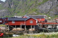 Free Fisherman S Houses On Lofoten Stock Photo - 15158270