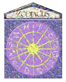 Free Elegant Isolated Sundial Of Zodiac Royalty Free Stock Photos - 15158378
