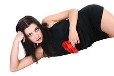 Free Pretty Brunette Royalty Free Stock Photos - 15159198