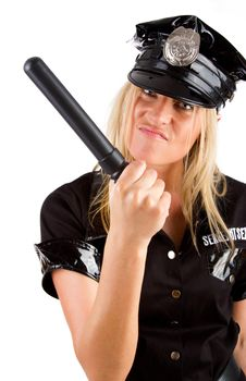 Free Policewoman On Duty Royalty Free Stock Images - 15159309