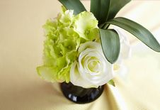 Free Decorative Artificial Flowers Stock Image - 15159751