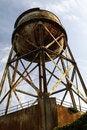 Free Alcatraz Prison Water Tower Stock Photo - 15163740