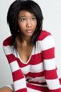 Free Beatiful Young Black Woman In Sweater Stock Image - 15165661