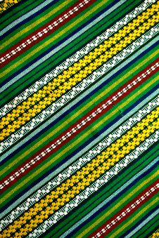 Thailand S Pattern Woven Royalty Free Stock Image