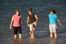 Free Girls Playing Water Stock Photos - 15160163
