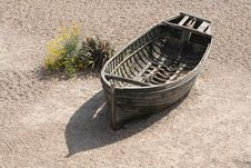 Free Boat On The Beach Royalty Free Stock Photography - 15160457