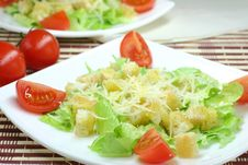 Free Caesar Salad Stock Photo - 15160730