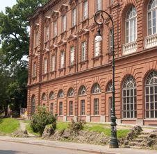 European University Building Royalty Free Stock Photos
