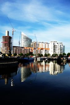 Free Docklands Reflected View Stock Image - 15161511