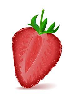 Free Strawberry Segment Royalty Free Stock Images - 15162849