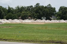 Free Ballfield Under Destruction 2 Stock Photo - 15163150