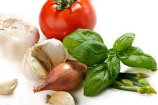 Close Up Of Mixed Vegetables Stock Images