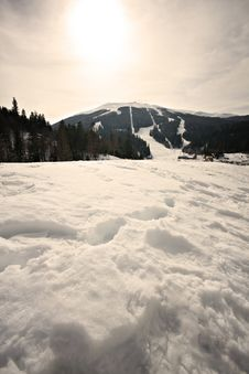 Free Winter Mountain Landscape Snow Stock Photo - 15163940