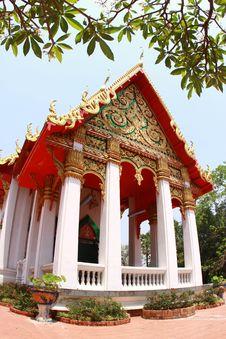 Free Thai Temple Royalty Free Stock Image - 15165126