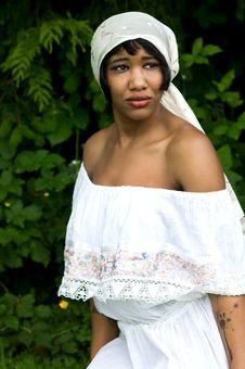 Free Beautiful Black Woman In Nature Setting Stock Photos - 15165623