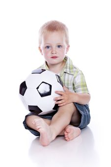 Free Boy With Ball Stock Images - 15165644