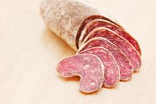 Free Sausage Slices Stock Photo - 15165830