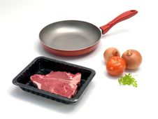Free Packaged T Bone Steak Stock Photography - 15165992