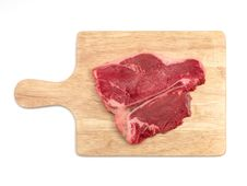 Free Raw T Bone Steak Royalty Free Stock Photos - 15166008