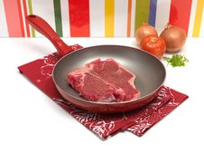 Free Raw T Bone Steak Royalty Free Stock Images - 15166019