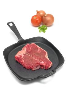 Free Raw T Bone Steak Royalty Free Stock Image - 15166036