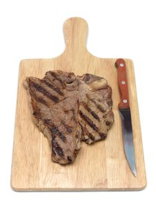 Free T Bone Steak Stock Photos - 15166083