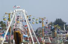 Free Amusement Park Ride Stock Image - 15166171