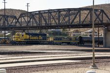 Free Barstow Train Tracks Stock Photo - 15166210