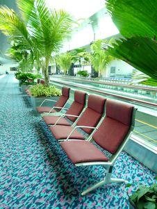 Free Seating At Changi Airport Royalty Free Stock Image - 15166616